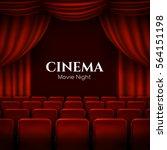 movie cinema premiere poster... | Shutterstock .eps vector #564151198