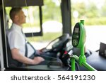 modern prepaid public transport ... | Shutterstock . vector #564191230