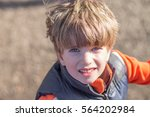 portrait of a boy   Shutterstock . vector #564202984