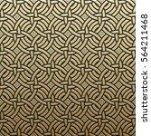 golden metallic background with ... | Shutterstock .eps vector #564211468