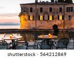 Evening On Lake Garda. Lake...