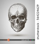 Vector Scull. Dot  Point. On A...