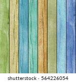 colored wooden texture   Shutterstock . vector #564226054