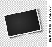 retro realistic vector photo... | Shutterstock .eps vector #564230809