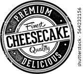 premium cheesecake vintage... | Shutterstock .eps vector #564232156