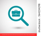 search job  icon. one of set... | Shutterstock .eps vector #564234298