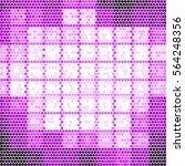 abstract grunge grid polka dot... | Shutterstock .eps vector #564248356