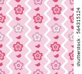 seamless pattern background... | Shutterstock . vector #564315124