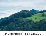 House On A Hilltop In...