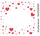 heart love card decoration | Shutterstock .eps vector #564338989