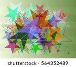 stars background texture | Shutterstock .eps vector #564352489