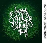 vector hand lettering saint...   Shutterstock .eps vector #564370390