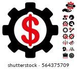 development cost pictograph...   Shutterstock .eps vector #564375709