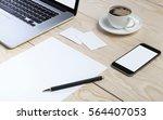 photo. template for branding...   Shutterstock . vector #564407053