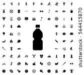 bottle icon illustration... | Shutterstock .eps vector #564415870