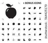 apple icon illustration... | Shutterstock .eps vector #564425170