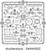 retro design elements | Shutterstock .eps vector #56444302