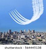 Air Show Above The City  San...