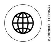 world icon | Shutterstock .eps vector #564448288