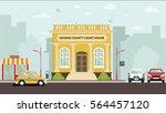 court house building | Shutterstock .eps vector #564457120