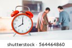start working time. and the... | Shutterstock . vector #564464860