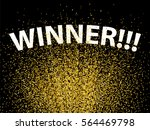 confetti background. winning... | Shutterstock .eps vector #564469798