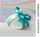 cute easter background. easter... | Shutterstock .eps vector #564470830