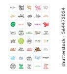 words sentence typography... | Shutterstock .eps vector #564472024