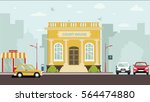 court house building | Shutterstock . vector #564474880
