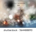 blue blurred abstract... | Shutterstock .eps vector #564488893