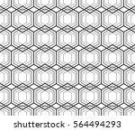 seamless geometric pattern | Shutterstock .eps vector #564494293