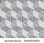 seamless geometric pattern....   Shutterstock .eps vector #564494404