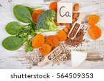 ingredients or products... | Shutterstock . vector #564509353