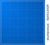 vector blueprint with grid   Shutterstock .eps vector #564513439