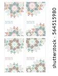 abstract flower vector...   Shutterstock .eps vector #564515980