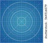 vector blueprint background...   Shutterstock .eps vector #564516079