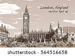 Sketch Cityscape Of London The...