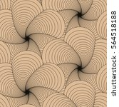 seamless tile with graphic... | Shutterstock .eps vector #564518188