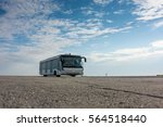 airport bus on the apron | Shutterstock . vector #564518440