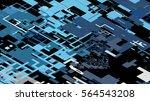 vector illustration of a... | Shutterstock .eps vector #564543208
