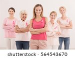 group of women in different age ... | Shutterstock . vector #564543670