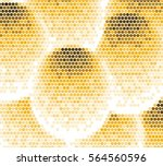 abstract grunge grid polka dot... | Shutterstock .eps vector #564560596