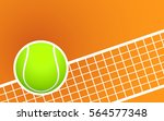 tennis and clay court background   Shutterstock .eps vector #564577348