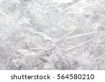 Background Of Ice Crystals On...