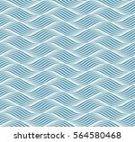 geometric simple pattern with... | Shutterstock .eps vector #564580468