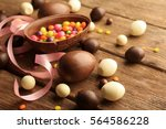 Chocolate Easter Eggs And...
