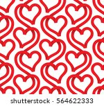 vector seamless pattern of...   Shutterstock .eps vector #564622333
