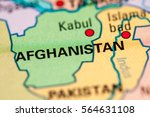 afghanistan   Shutterstock . vector #564631108