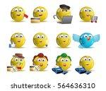 illustrations of variety... | Shutterstock .eps vector #564636310