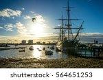 Portsmouth historic Dockyard / HMS Warrior